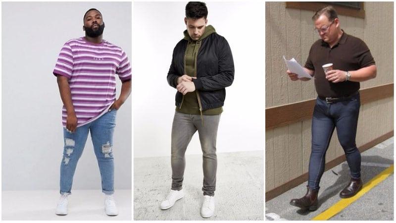 Worst Skinny Jeans for Big Men