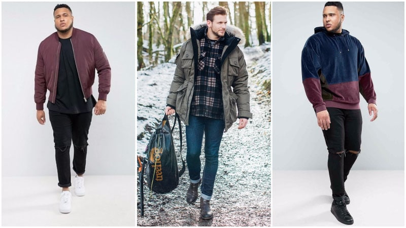 Skinny Jean Design for Big Men