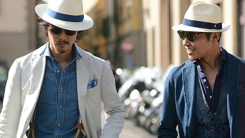 Trilby vs Fedora Style Guide