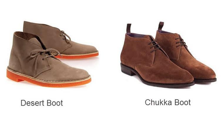 Chukka vs Desert Boots