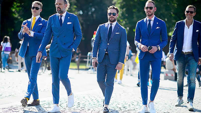 Best Shirts to Wear With a Blue Suit