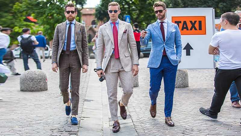 What Colour Shoes to Wear with Your Suit