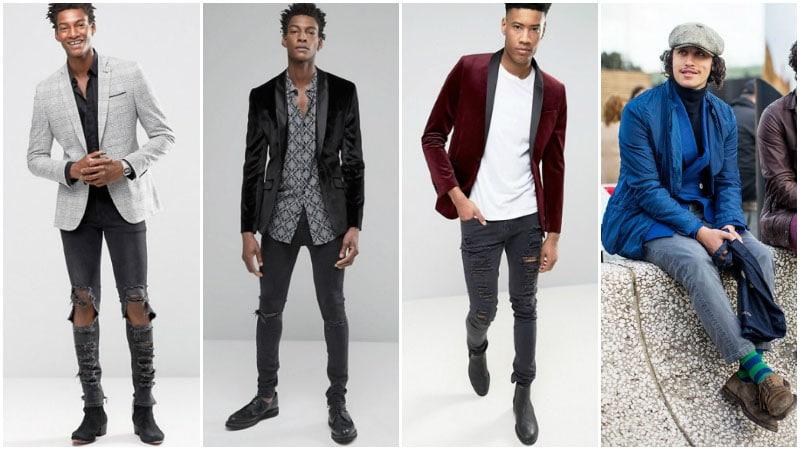 Blazer with Grey Jeans