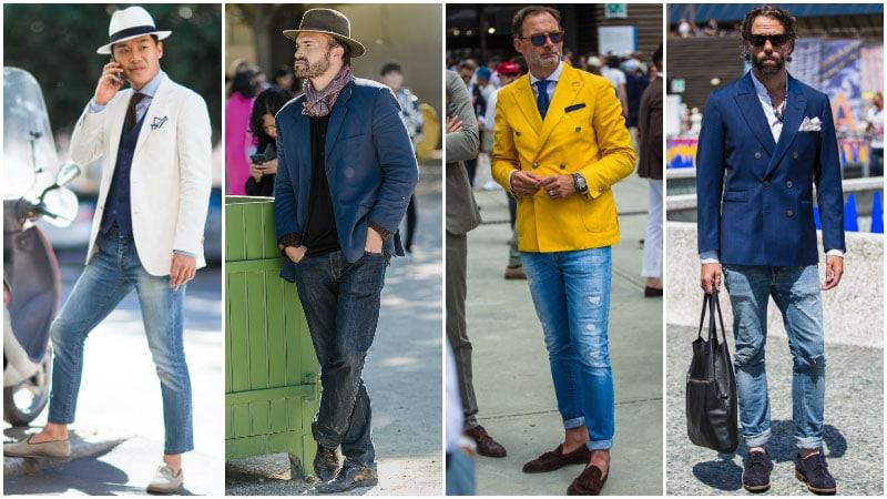 Blazer with Skinny Jeans