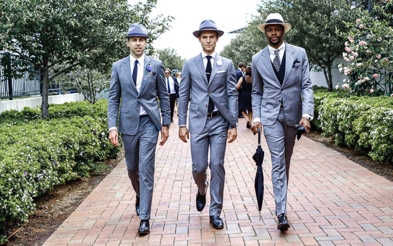 Formal Styling Grey Suit
