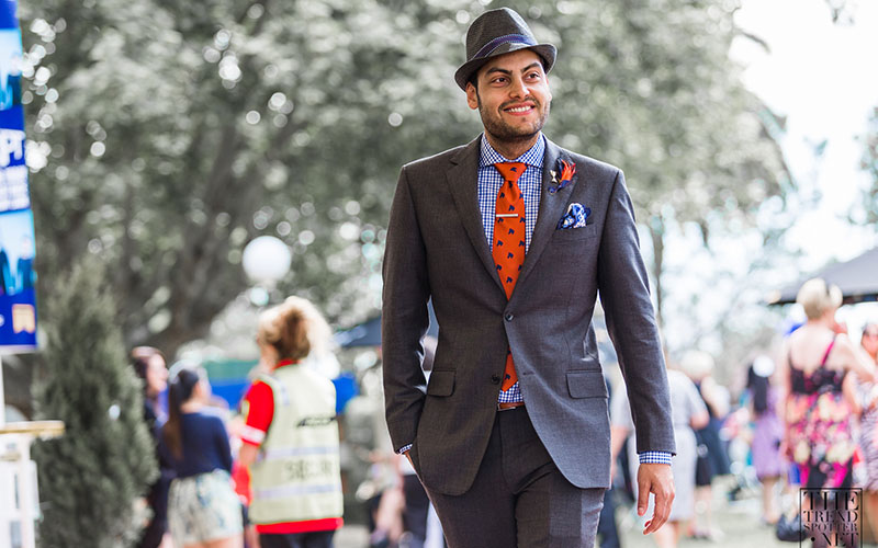 Formal Styling for Charcoal Grey Suit