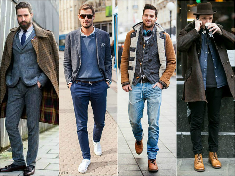 Mens Layering Autumn:Winter 2015 - Textures