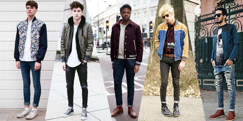 bomber jackets menswear street style trends