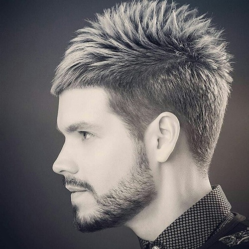 Tapered Spiky Quiff