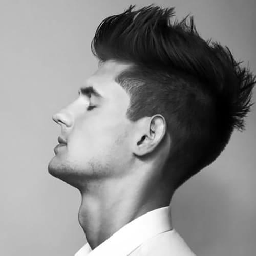 Faux Hawk Spiky Hair
