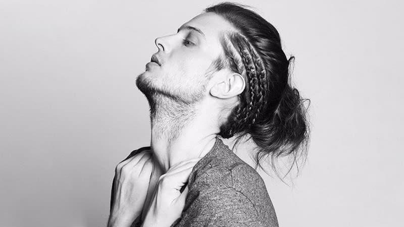 Man Bun braids