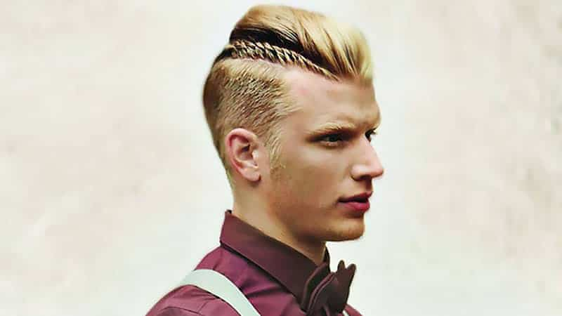 Man Braid Hairstyle for Men