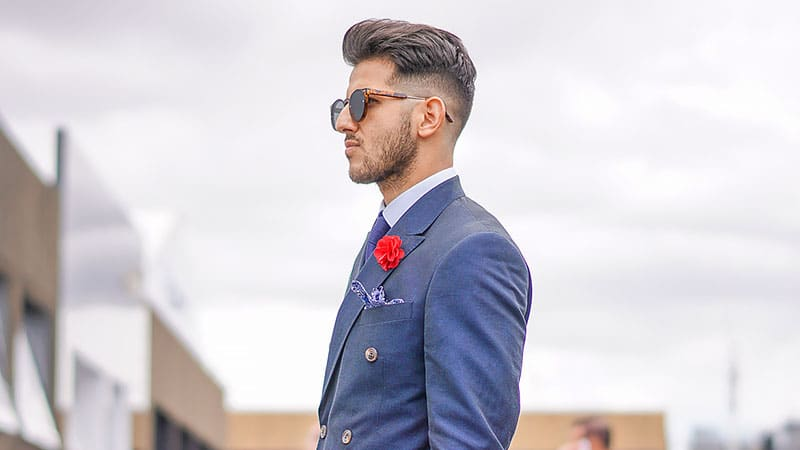 Mid Taper Fade Hairstyle for Men