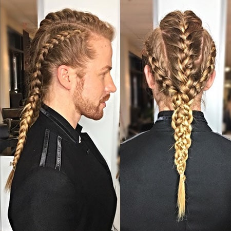 Warrior Man Braids
