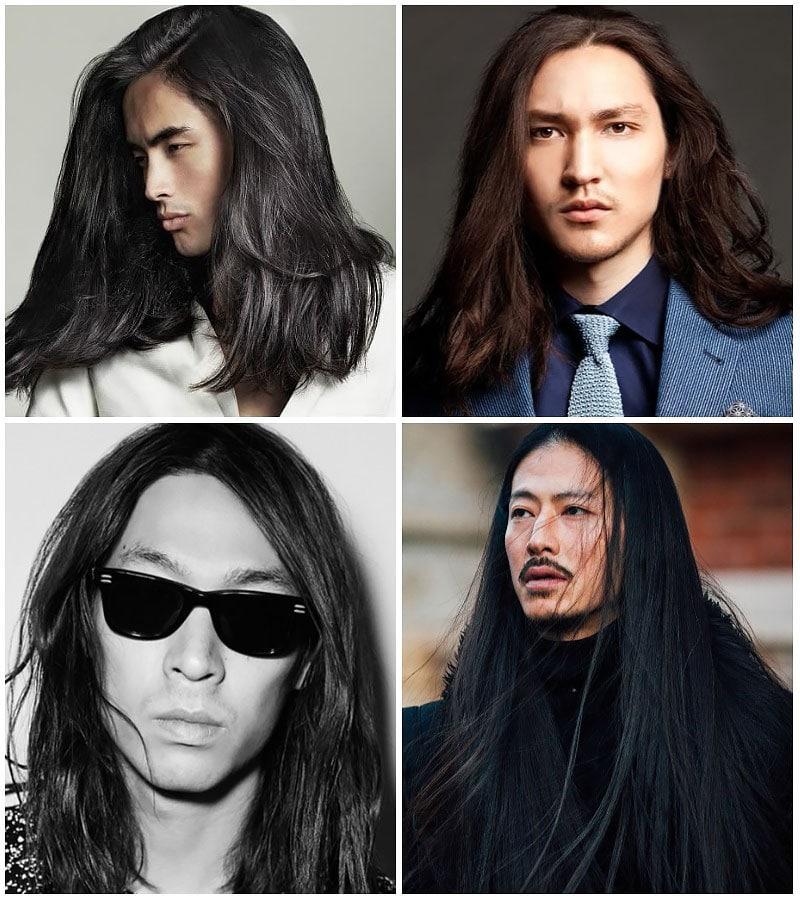 Long Hair For Asian Men