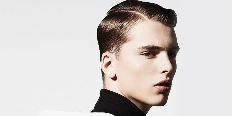 How to Create the Classic Men's Side Part Hairstyle 1