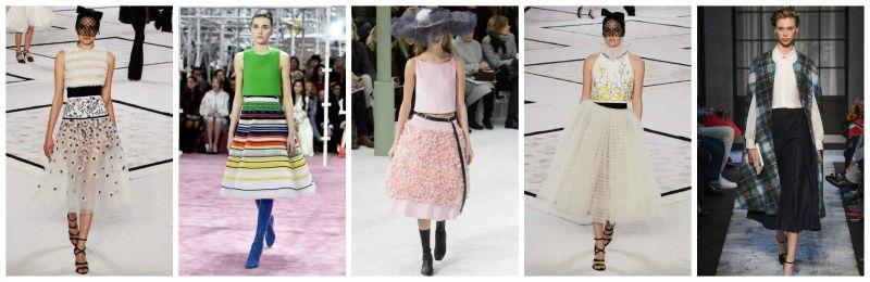 full skirts trend