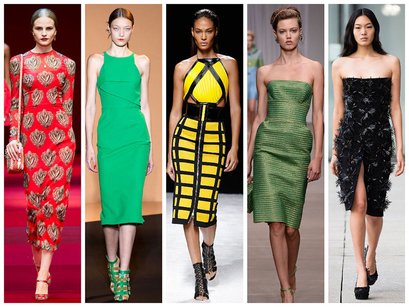 fitted dresses trend 2015