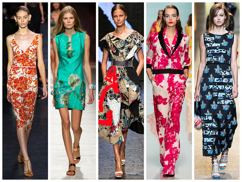 70s and Japanese Print Trend 2015