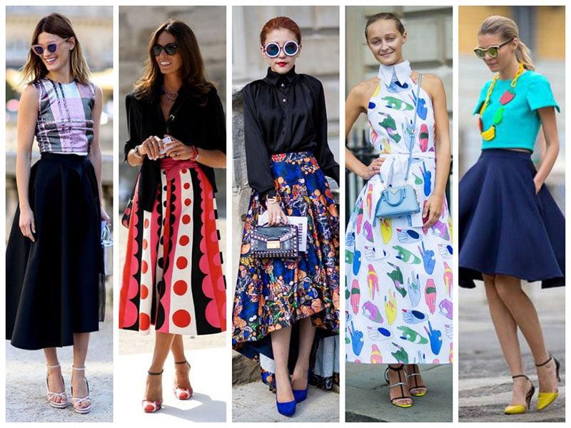a-line skirts dresses