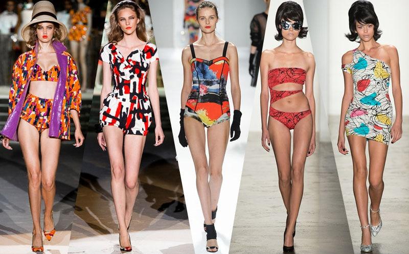 art prints runway street style trend 2014