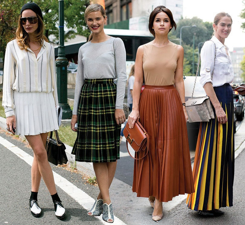 PLEATED SKIRT_street_style_trends_2014