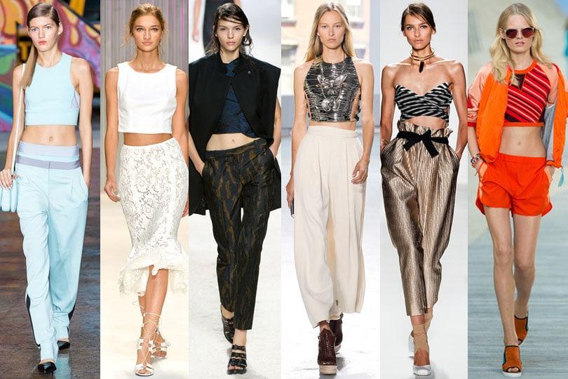 Crop Tops trends 2014 runway