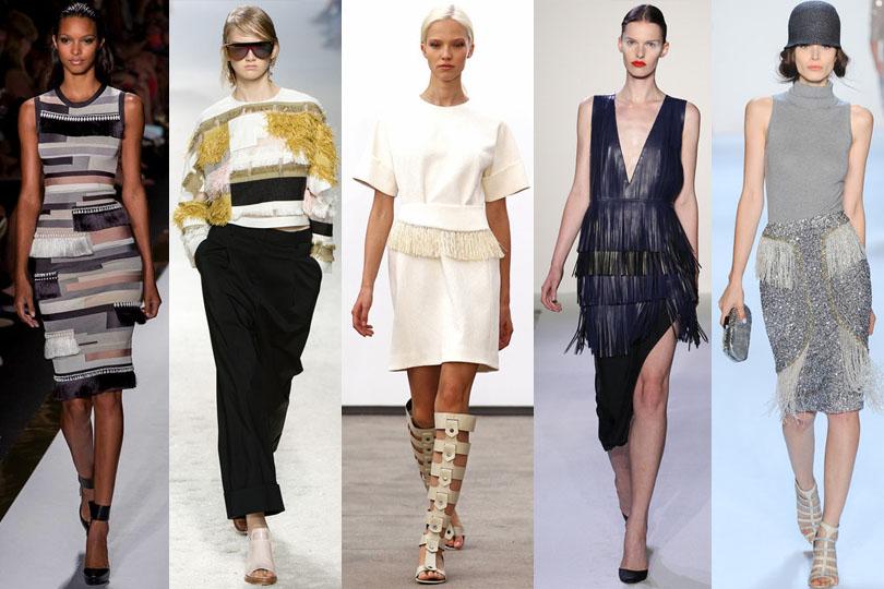 fringing trend runway 2014