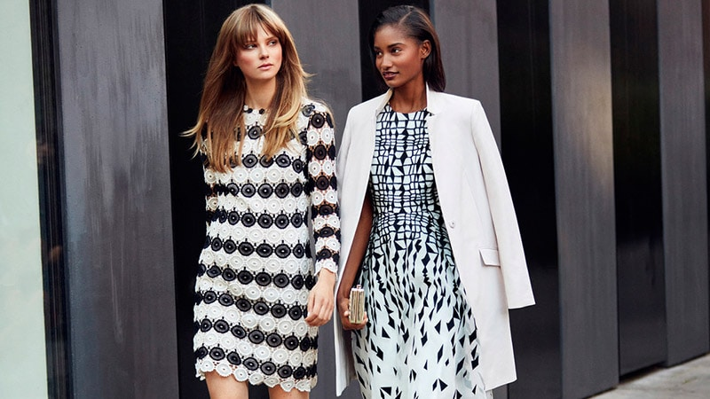 Chic Black and White Outfits
