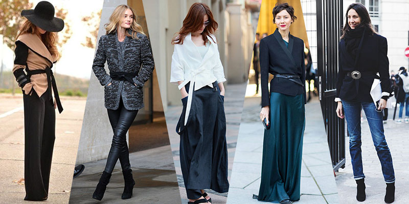belted wrapped jacket trend