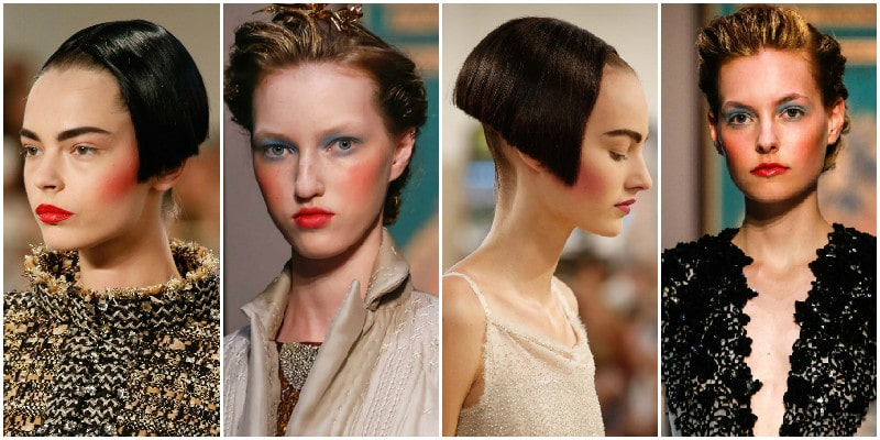 blush beauty trends couture 2015