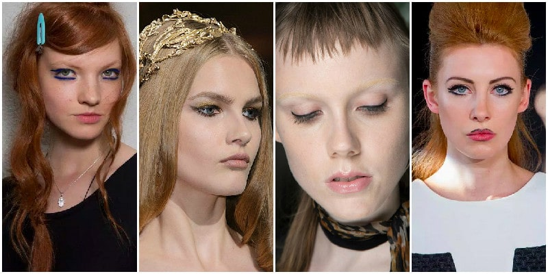 eyeliner trend 2015 couture beauty