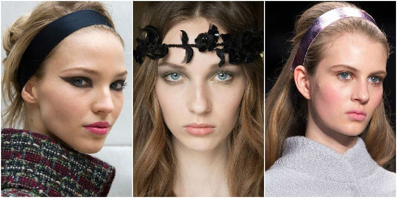 head band beauty trends 2015