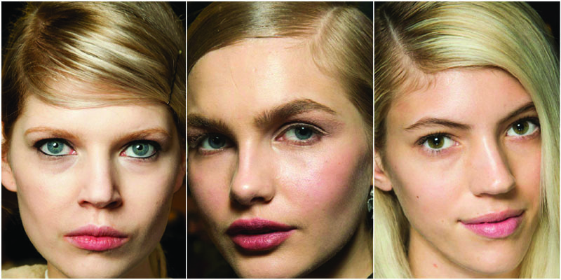 side parting trend 2015 hair beauty