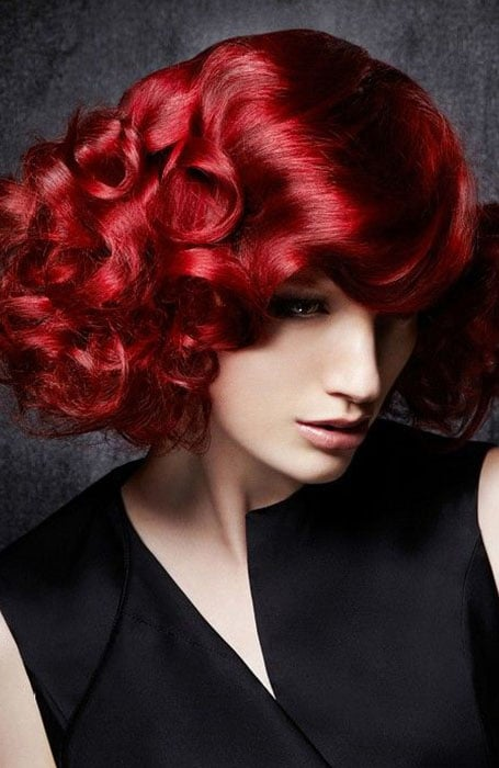 Ruby Red Hair Color