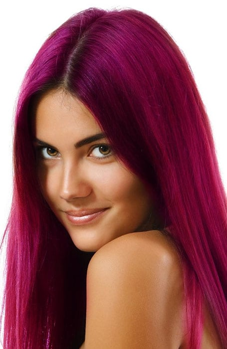 Magenta Hair Color