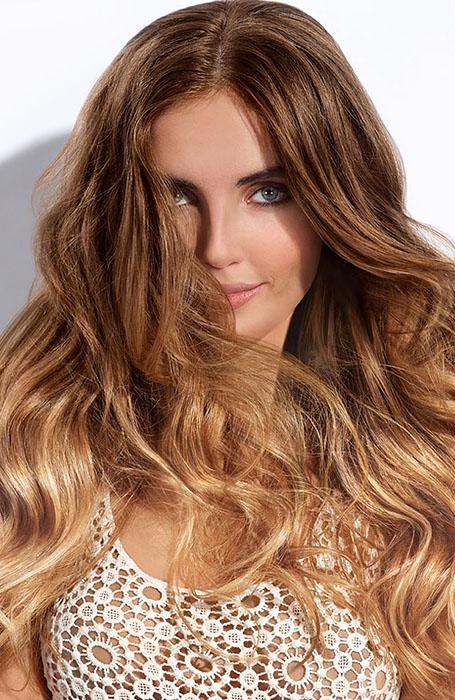 Brunette to Blonde Balayage (1)