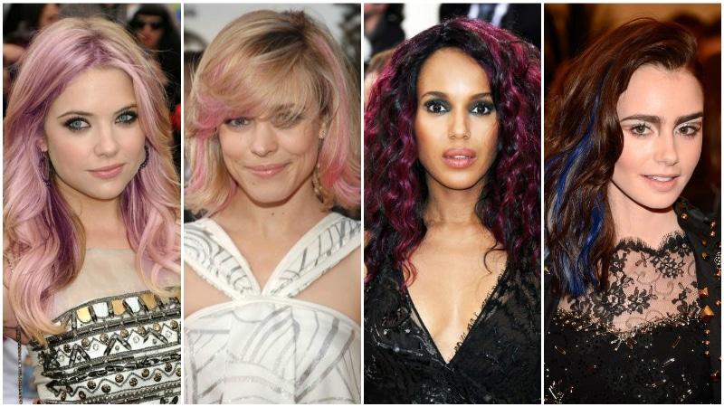 Coloured Highlights for Hair