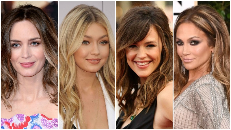 Highlights for Different Hair Colors