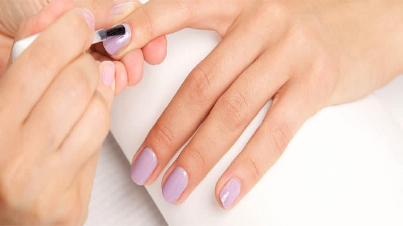 gel nails for weddings