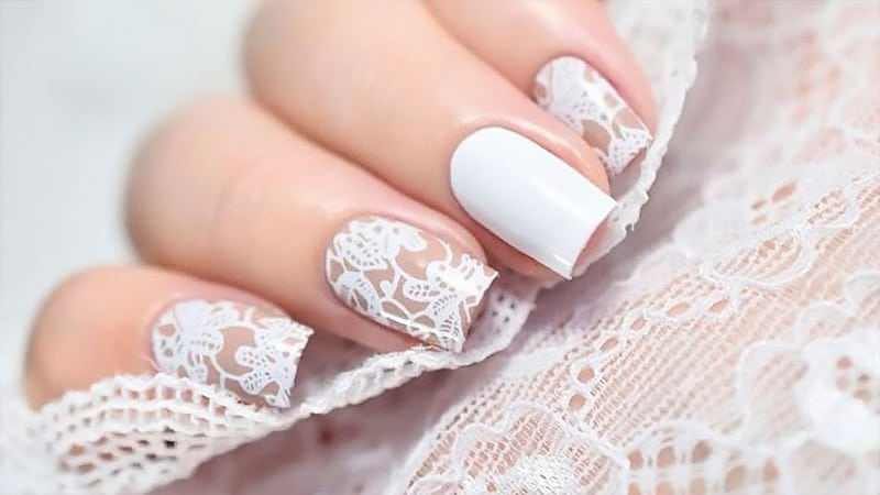 DIY Wedding Nails
