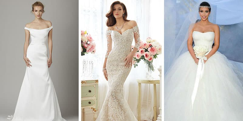 top heavy wedding dresses