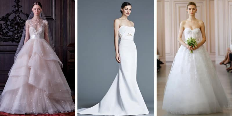 Slim & Straight Body wedding dress