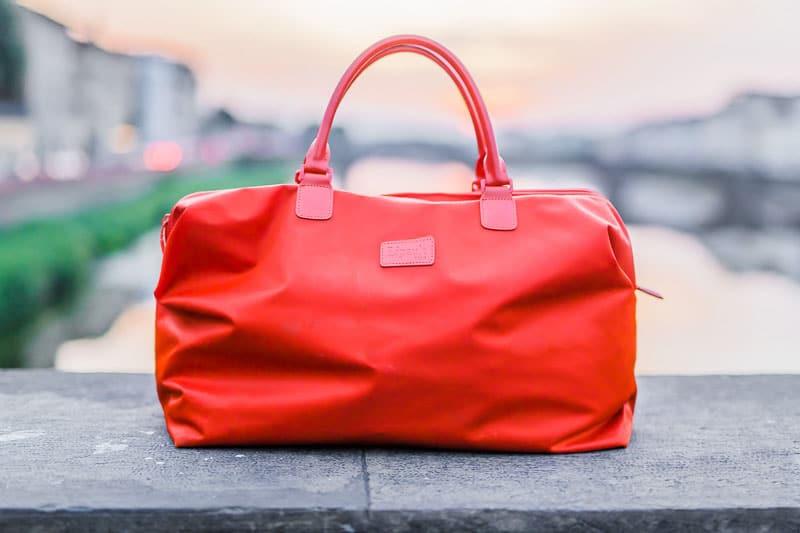 Lipout Orange Bag